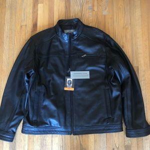 Other - Boston Harbour Men's New Zeeland Leather Jacket
